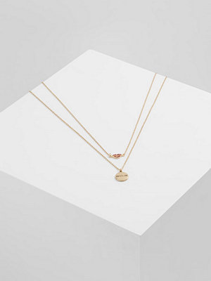 Only ONLLEXA 2 PACK CHAIN NECKLACE Halsband goldcoloured