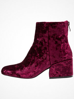 Lost Ink DANCER ANGLED HEEL LOW Stövletter burgundy