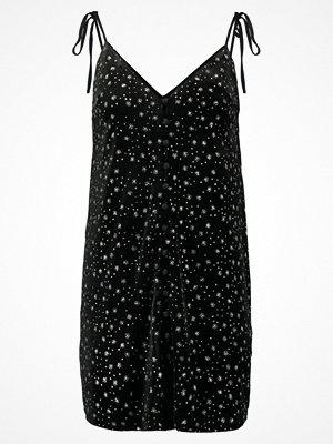 Topshop STAR GLITTER  Jerseyklänning black