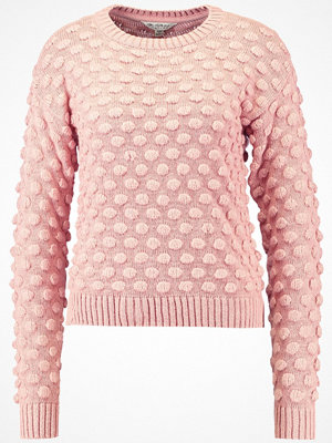 Miss Selfridge ALL OVER BOBBLE JUMPER Stickad tröja blush pink
