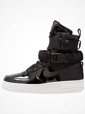 Sneakers & streetskor - Nike Sportswear SF AF1 SE PRM Höga sneakers black/reflect silver