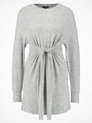 Topshop CUT & SEW JUMPER DRESS Stickad klänning grey
