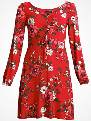 Dorothy Perkins RED FLORAL TEA DRESS Jerseyklänning red