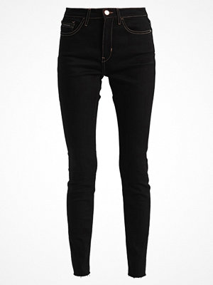 Calvin Klein Jeans HIGH RISE SKINNY Jeans Skinny Fit raw black