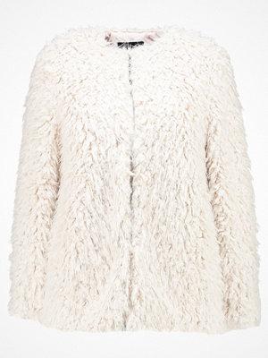 New Look CURLY SHORT COAT Vinterjacka cream