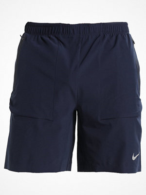 Nike Performance SHIELD RUN DIVISION Träningsshorts obsidian/silver