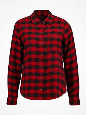 Abercrombie & Fitch Skjorta red check