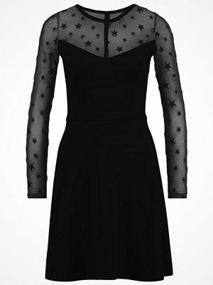 Even&Odd SKATER DRESS  Jerseyklänning black