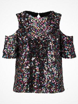 Dorothy Perkins MULTI SEQUIN COLD SHOULDER  Tshirt med tryck multi bright