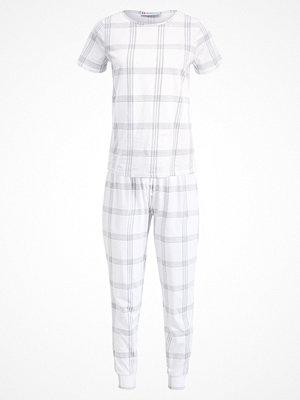 Pyjamas & myskläder - Even&Odd SET Pyjamas grey/white