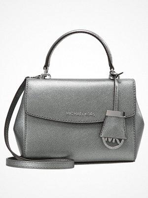 Handväskor - MICHAEL Michael Kors AVA XS CROSSBODY 18K Handväska silver