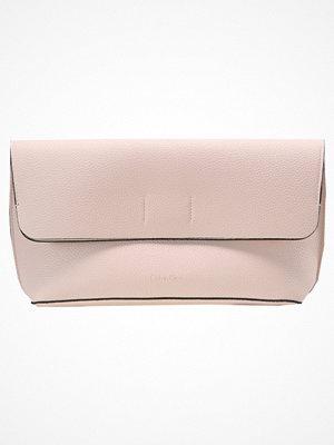 Calvin Klein Kuvertväska pink cremefärgad