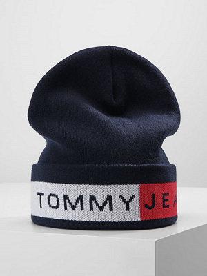 Mössor - Tommy Jeans LOGO FLAG Mössa blue