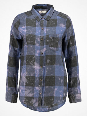 Hollister Co. PLAID UPDATE  Skjorta blue