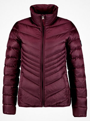 Abercrombie & Fitch PACKABLE PUFFER Dunjacka burgundy