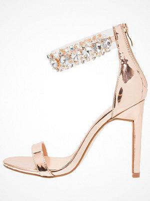 Sandaler & sandaletter - Public Desire FIJI Sandaletter rose gold