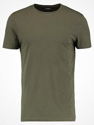 Calvin Klein TRAVOR CREW NECK Tshirt bas green