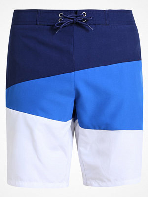 Pier One Surfshorts white/blue/dark blue