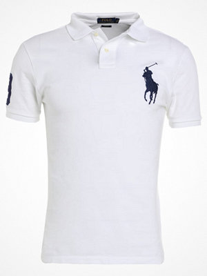 Polo Ralph Lauren BASIC MESH SLIM FIT Piké white