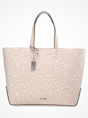 Calvin Klein mönstrad shopper EDIT LARGE Shoppingväska pink