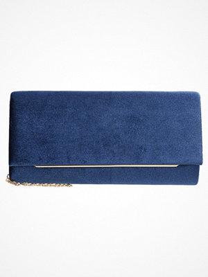 Anna Field Kuvertväska dark blue marinblå