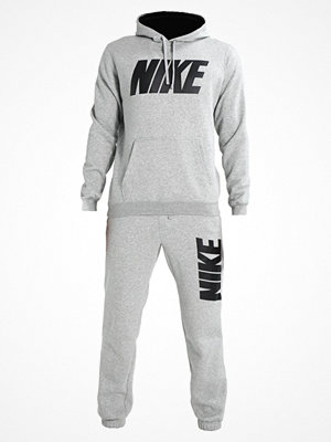 Nike Sportswear JUST DO IT Träningsset dark grey heather/black