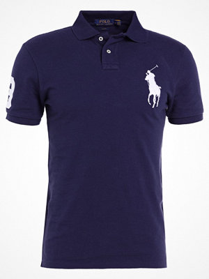 Polo Ralph Lauren BASIC MESH SLIM FIT Piké navy