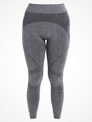 Zizzi LUCY Leggings dark grey melange