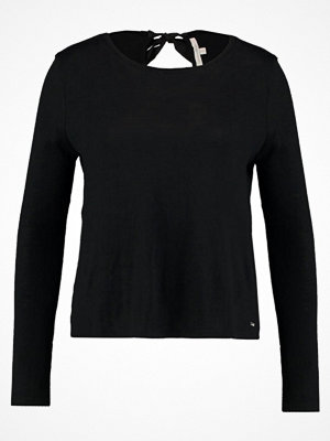 Tom Tailor Denim BOW DETAIL Stickad tröja black
