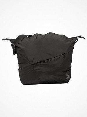 Sport & träningsväskor - Reebok FOUND SHOULDER BAG Sportväska black/medgre