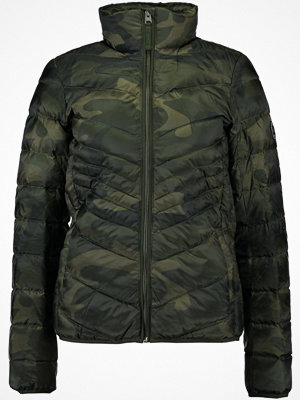 Abercrombie & Fitch PACKABLE PUFFER  Dunjacka olive
