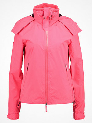 Superdry HOODED CLIFF HIKER Tunn jacka coral punch/deep marine