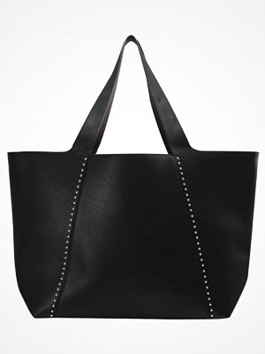 Topshop svart shopper Shoppingväska black