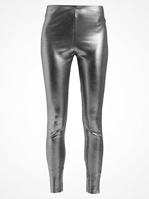 Weekday THALIA TIGHTS Leggings black/silver
