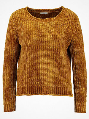 Jdy JDYMINE CROPPED  Stickad tröja golden brown