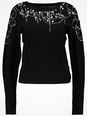 Topshop JUMPER  Stickad tröja black