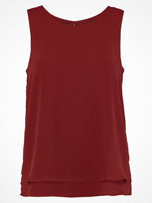 Zalando Essentials DOUBLE LAYER TANK Blus red