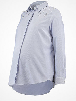 DP Maternity PEARL TRIM Skjorta blue