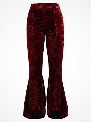 Topshop EXTREME FLARE Leggings wine