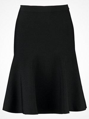 Kjolar - Warehouse FULL NEEDLE SKIRT Alinjekjol black