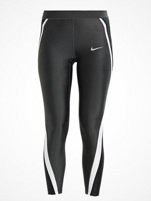 Nike Performance POWER SPEED 7/8 Tights anthracite/black/white/reflective silver