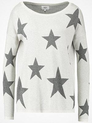 Only ONLSTARLING AMERICA  Stickad tröja whitecap gray
