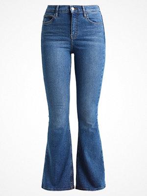 Topshop JAMIE FLARE Flared jeans blue denim