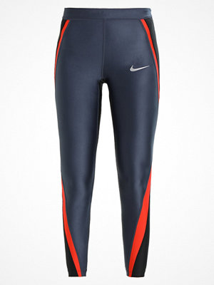 Nike Performance POWER SPEED 7/8 Tights thunder blue/black/habanero red