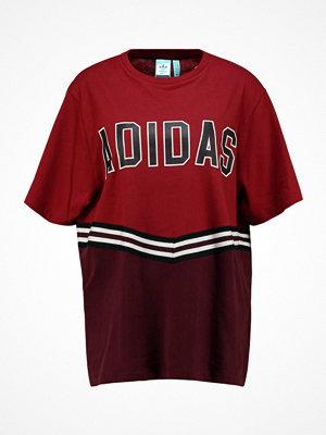 Adidas Originals ADIBREAK TEE Tshirt med tryck collegiate burgundy