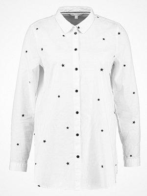 Tom Tailor Denim STAR EMBROIDERED Skjorta ecru