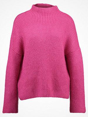Vila VIGRIP Stickad tröja beetroot purple