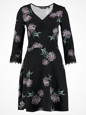 Dorothy Perkins ORIENTAL SLEEVE INSERT Jerseyklänning black/blush