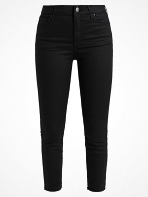 Topshop Petite COATED JAMIE Jeans Skinny Fit black