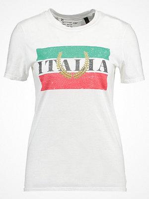 Topshop ITALIA  Tshirt med tryck white